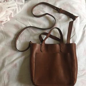 MADEWELL Small Crossbody Tote